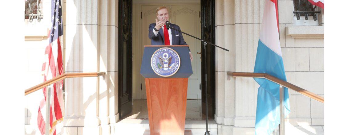 Remarks of Ambassador J. Randolph Evans on July 4th, 2020