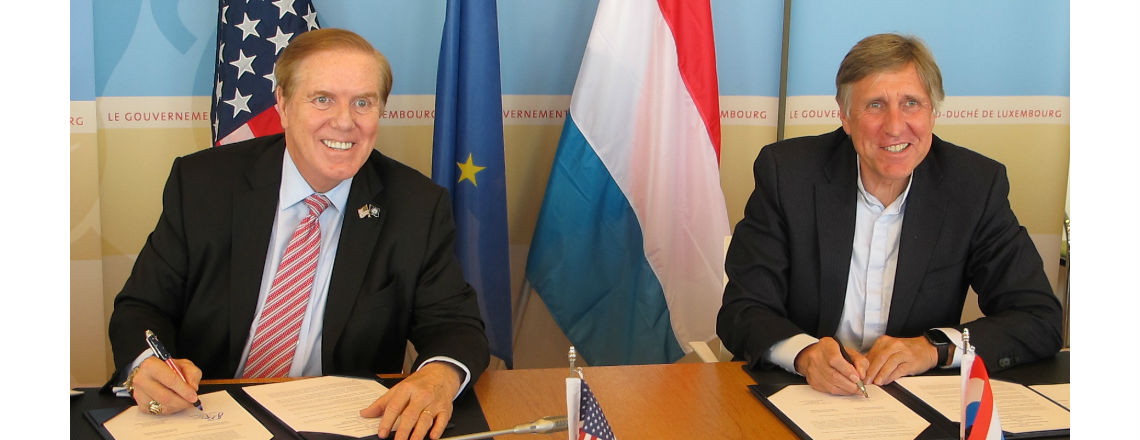 U.S. and Luxembourg Sign 10 year MOU on Sanem WSA