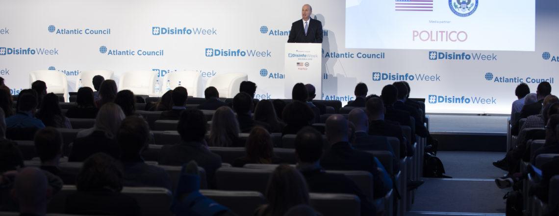 Ambassador Sondland's Opening Remarks at #DisinfoWeek Conference