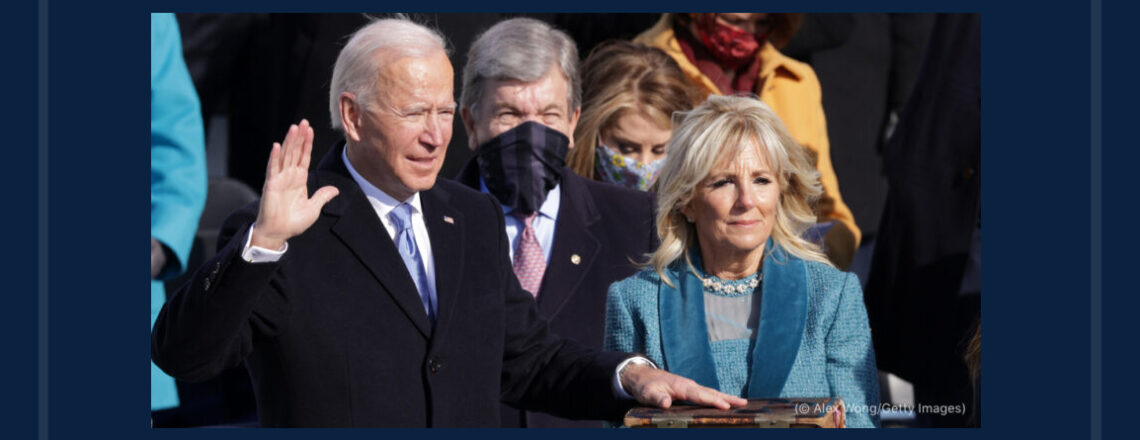 Joseph R. Biden, Jr., Sworn in as 46th U.S. President