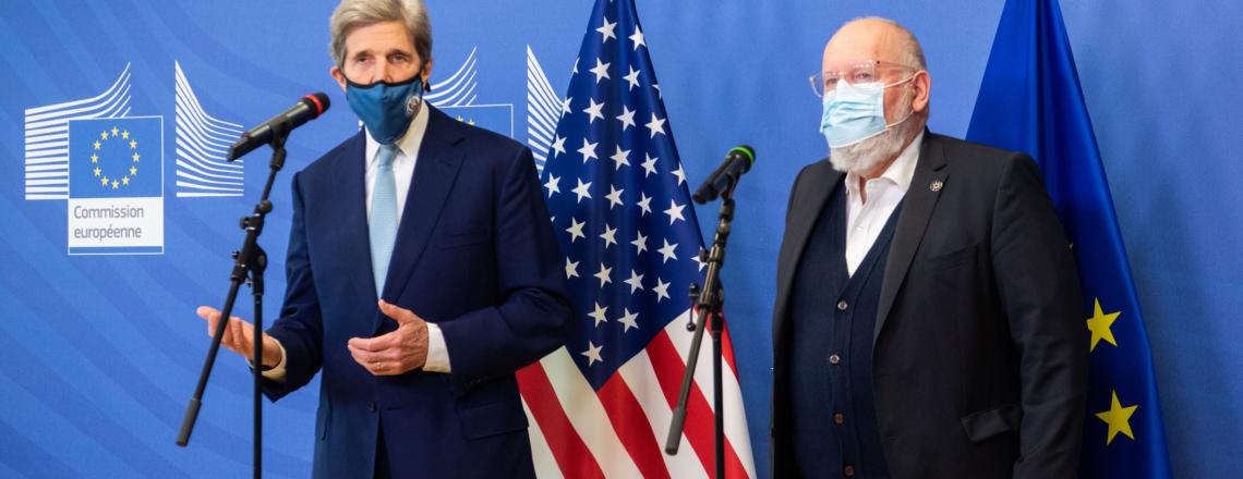 US Special Presidential Envoy John Kerry