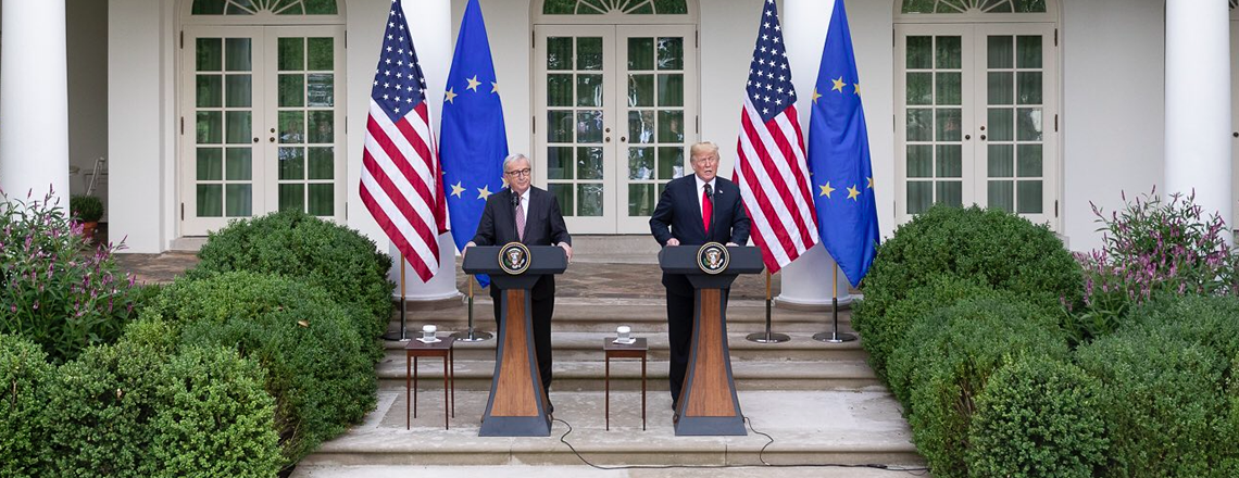 Remarks by President Trump and President Juncker of the European Commission