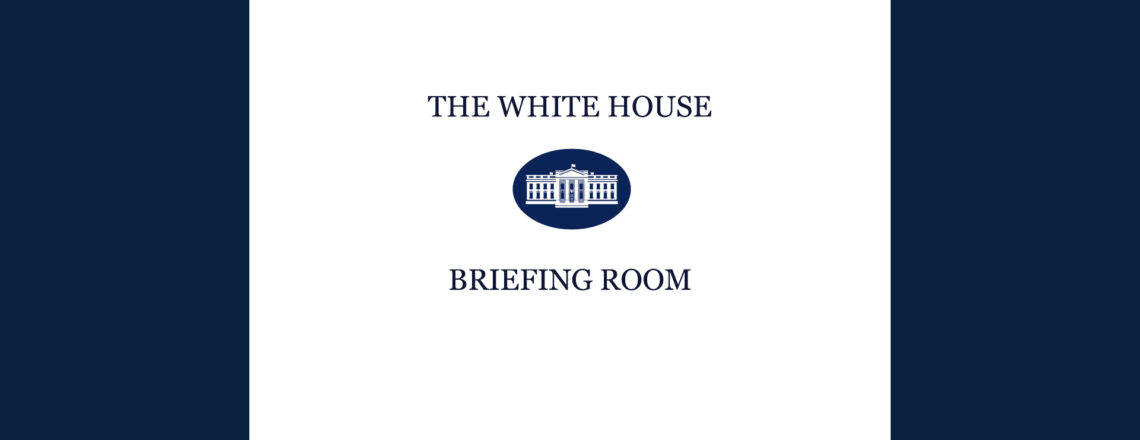 White House Briefing Room: Presidential Actions
