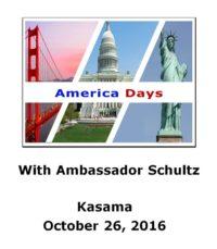 "America Days in Kasama –Screening of U.S. Film ""Big Dream"""