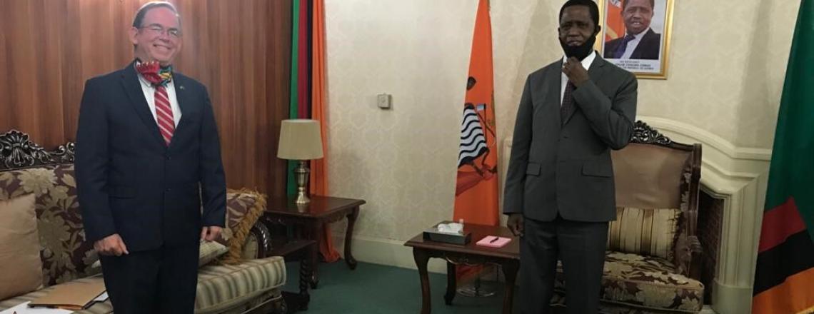 United States, Zambia Reaffirm Partnership