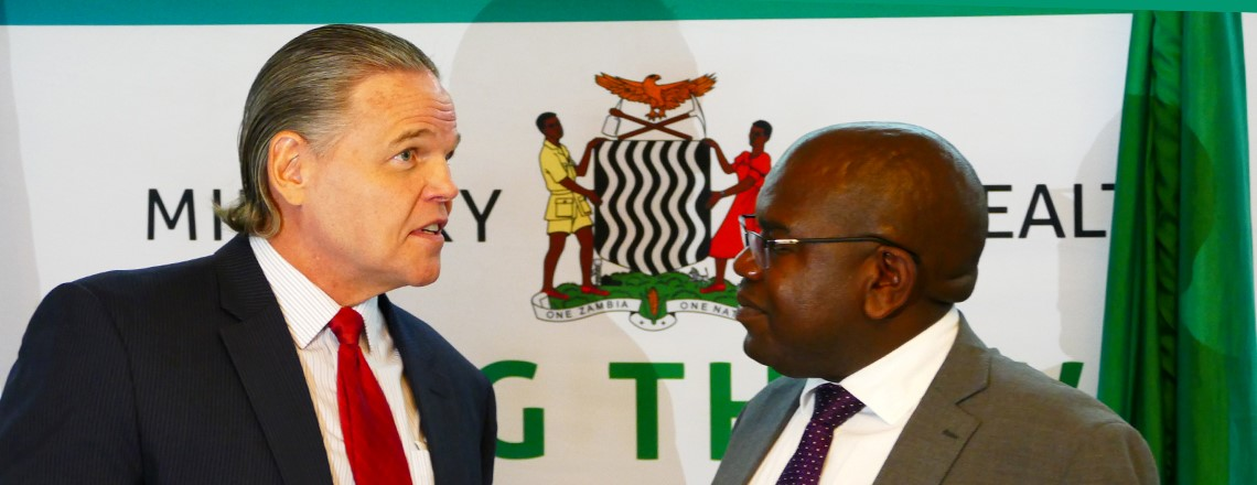 U.S. Ambassador, Health Minister Announce 2020 HIV/AIDS Funding