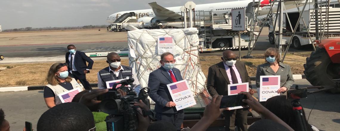 U.S. Embassy Announces Arrival of COVID Vaccine