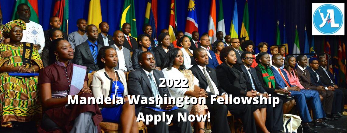 2022 Mandela Washington Fellowship for Young African Leaders