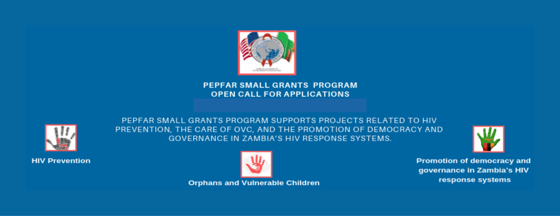 Call for Applications for the U.S. PEPFAR Small Grants Program