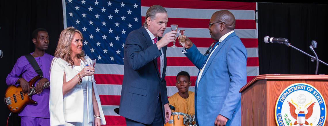 U.S. Embassy Celebrates 243 Years of Independence