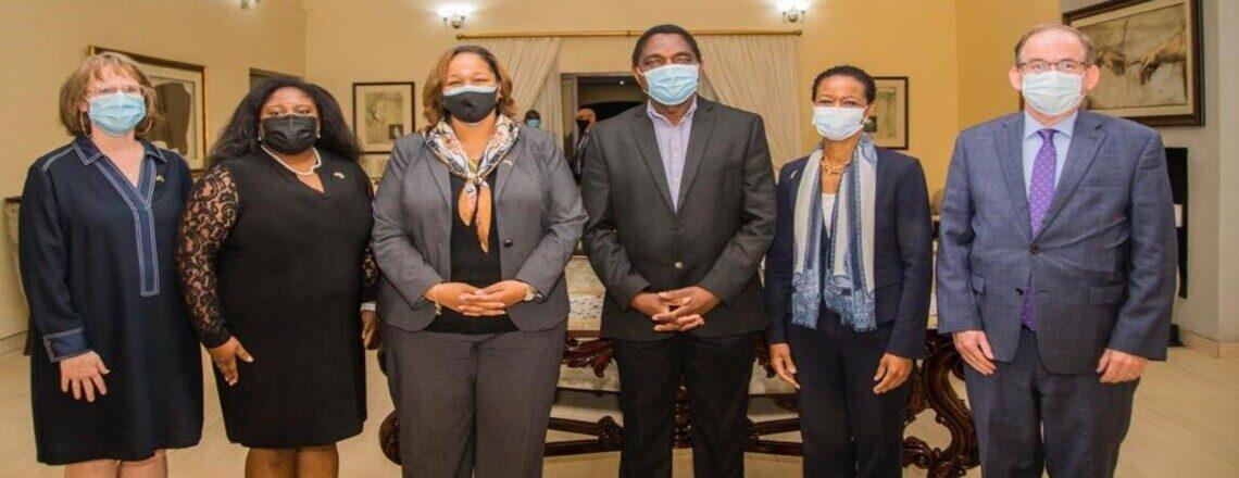 U.S. Presidential Delegation Attends President Hichilema's Inauguration