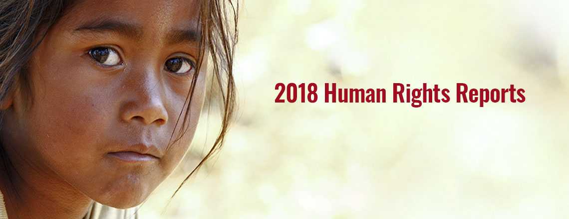 2018 Country Reports on Human Rights Practices