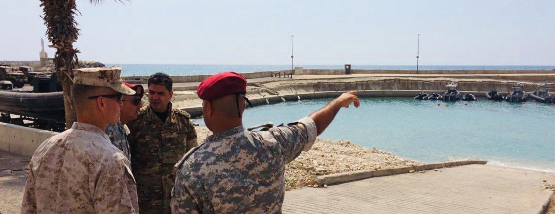 MARCENT Commander Lieutenant General Carl Mundy Visits Lebanon