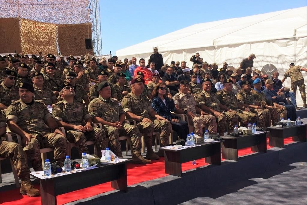 group of military officials sitting