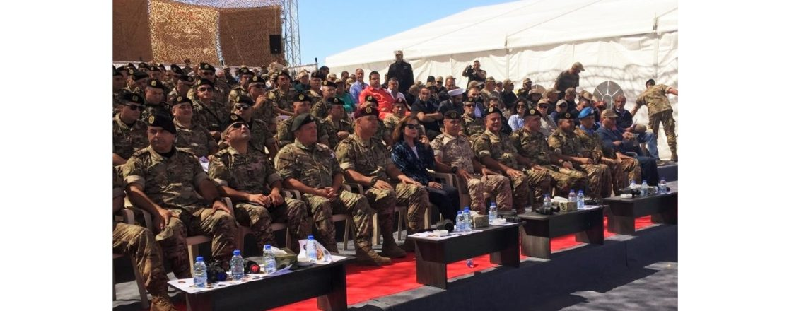 Ambassador Elizabeth Richard Congratulates the Lebanese Armed Forces