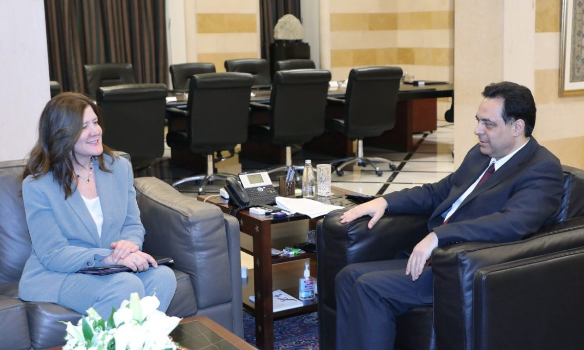 meeting between two officials