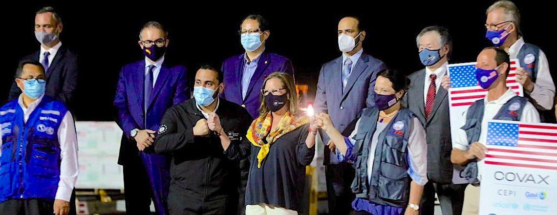 Estados Unidos dona  a El Salvador 1.5 millones de vacunas