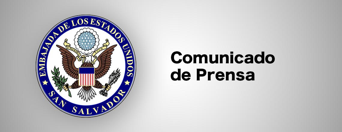 EEUU y El Salvador socios en combate a migración ilegal y crimen organizado