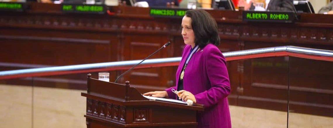 Ambassador Manes Receives Highest Decoration from Salvadoran Legislative Assembly
