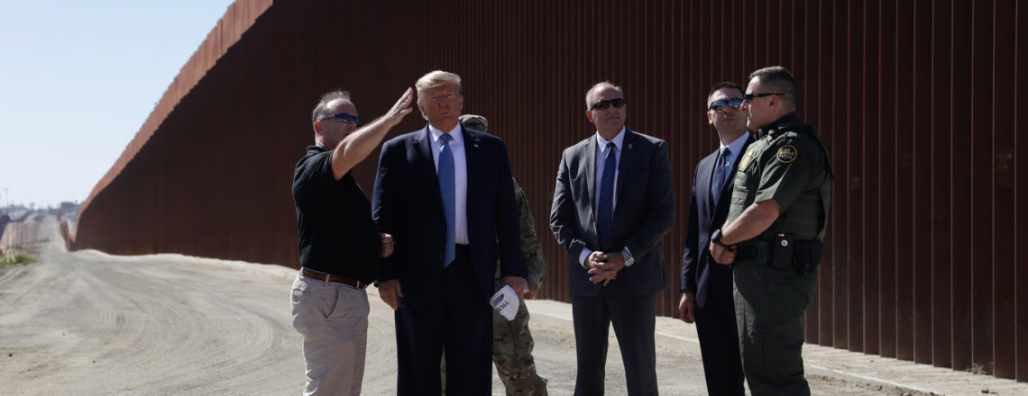 President Trump Visits Border Wall