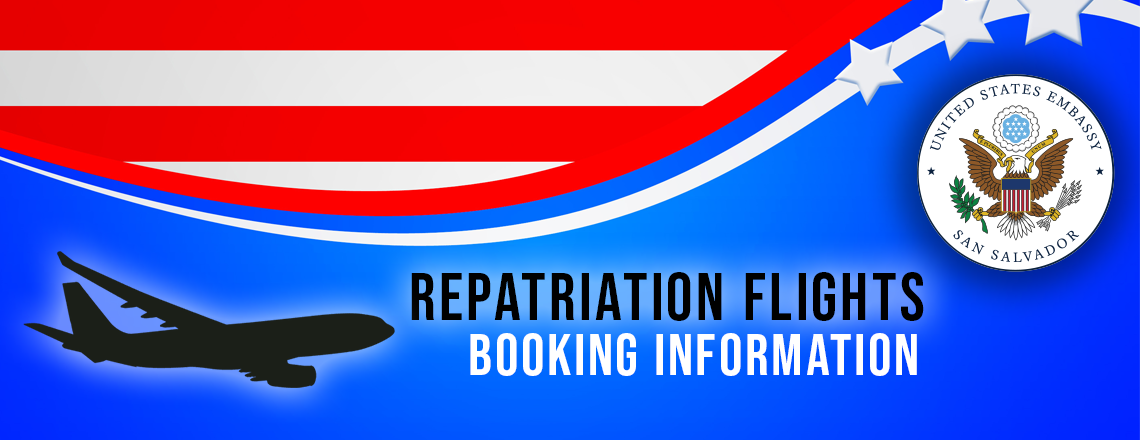 Repatriation Flight Booking Info
