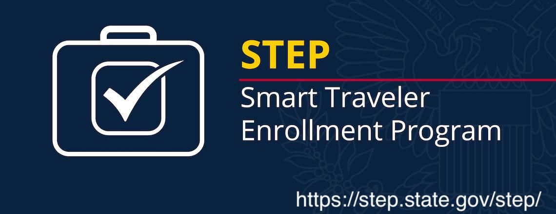 Enroll to the Smart Traveler Enrollment Program
