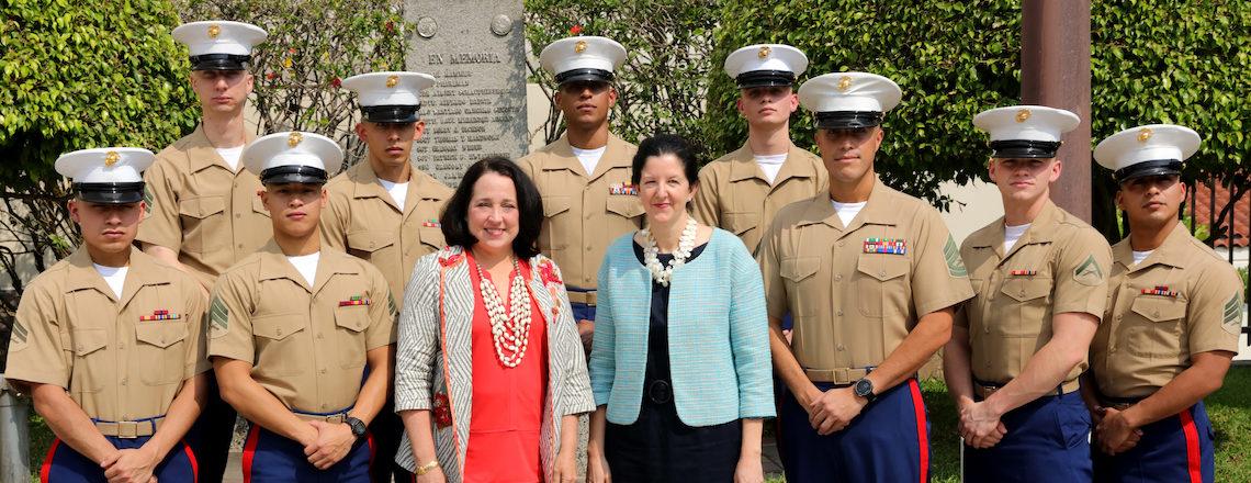 Assistant Secretary Breier visited El Salvador