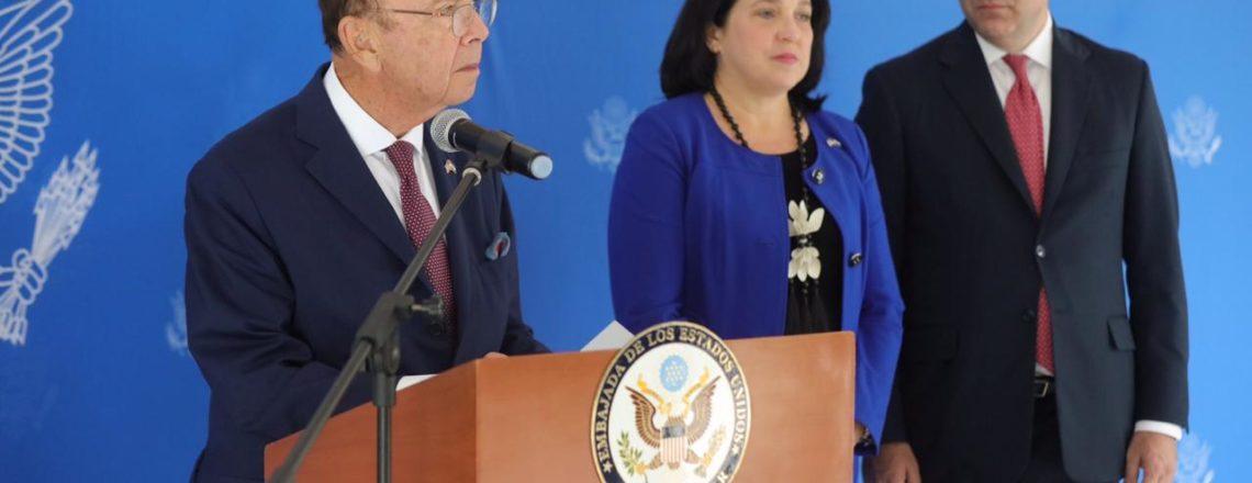 Secretary of Commerce Wilbur Ross Introduces U.S. Delegation