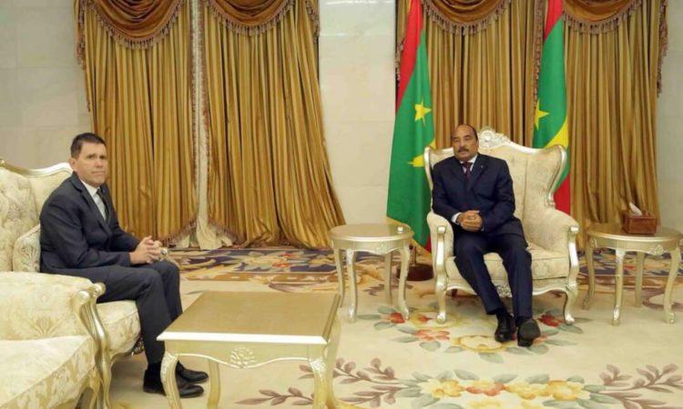 سعادة السيد مايكل دودمان، سفير الولايات المتحدة لدى موريتانيا
