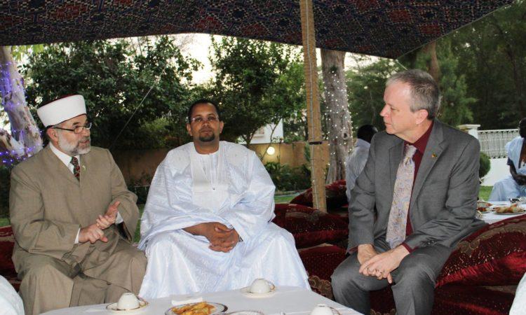 L'Ambassade Organise un Iftar