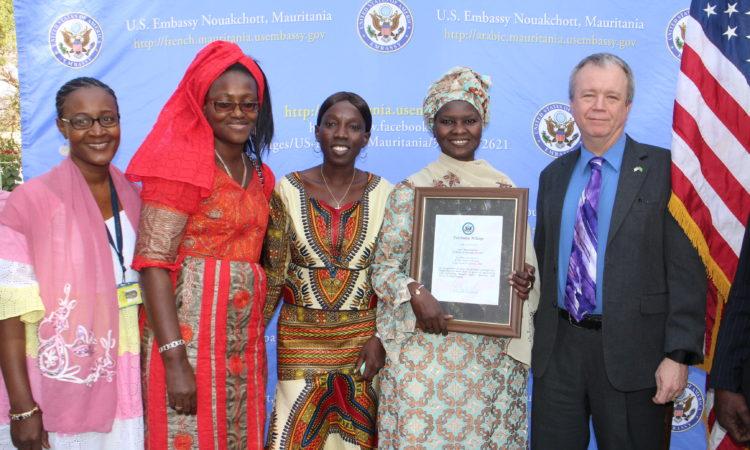 Femme de Courage en Mauritanie pour 2016