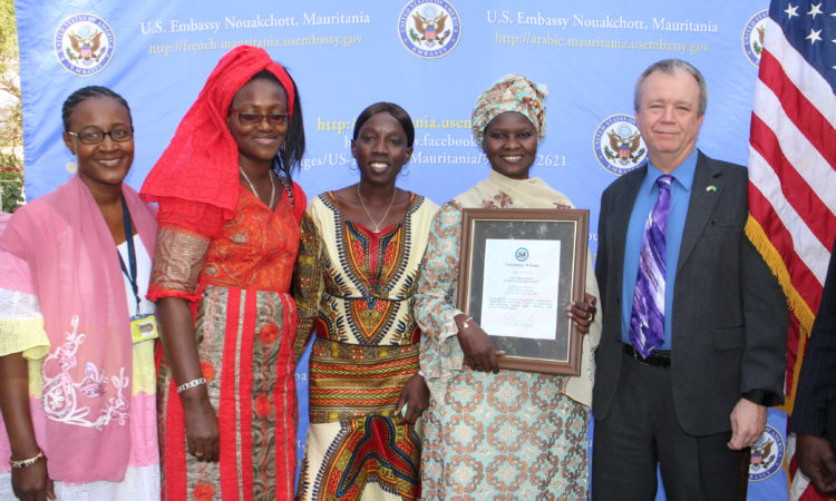 جائزة المرأة الشجاعة للسنة 2016