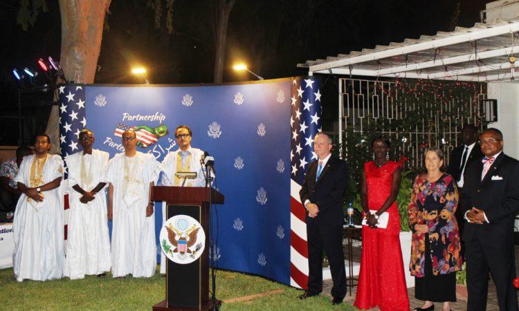 L'Ambassade célèbre la fête nationale des Etats-Unis