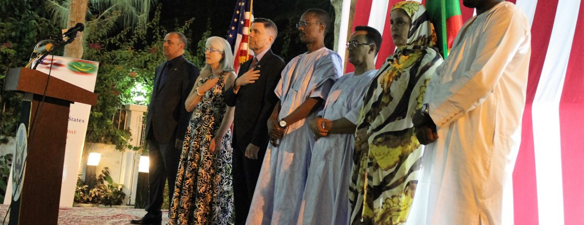 Ambassador Michael Dodman Independence Day Remarks