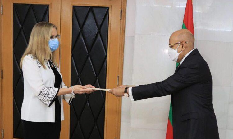 Cynthia Kierscht, ambassadeur des États-Unis en Mauritanie
