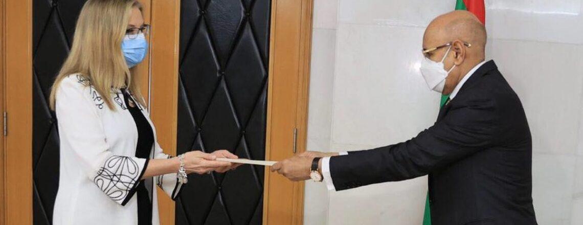 Statement of Ambassador Cynthia Kierscht after Presentation of her Credentials