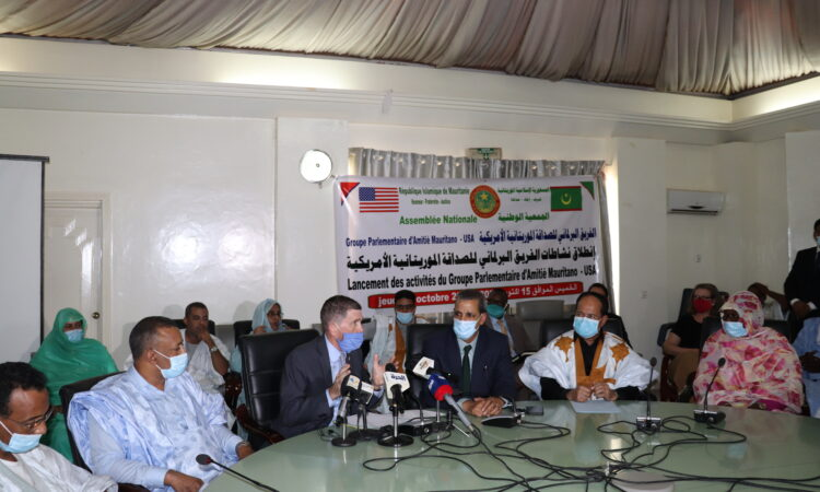 Launch of the work of the parliamentary friendship group between Mauritania and the United States