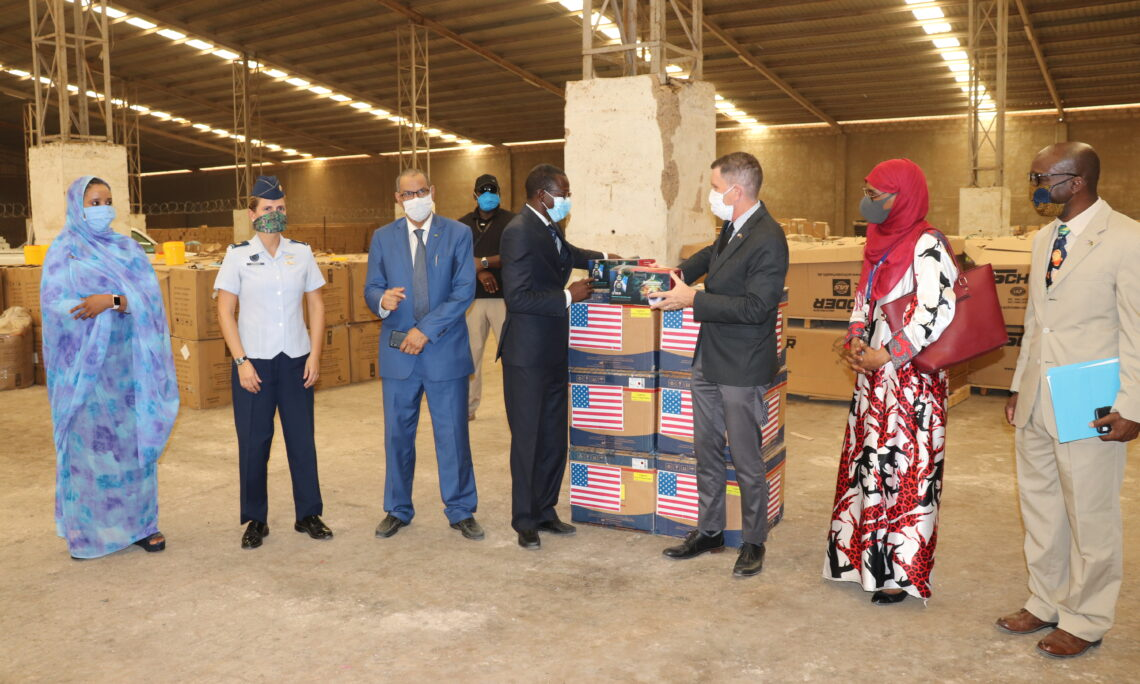 The Embassy of the United States is an active participant in the response to COVID-19 in Mauritania