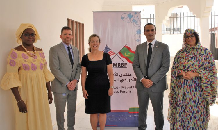 DAS Baird Visits the United States Mauritania Business Forum