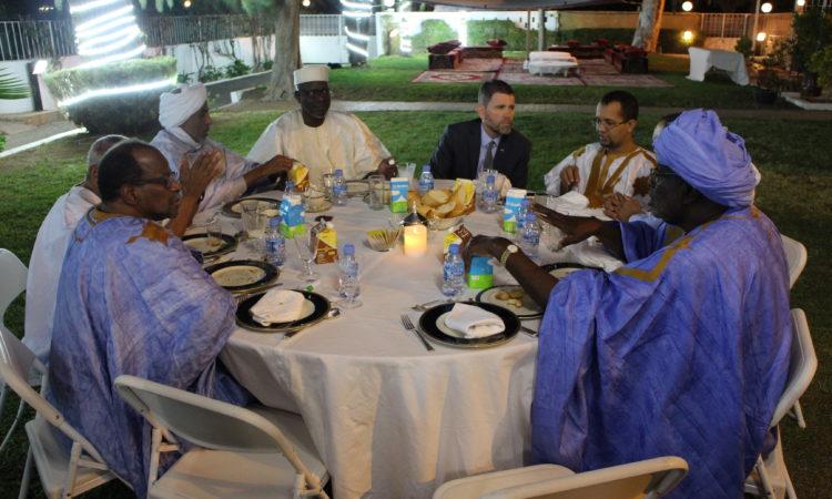 Embassy Nouakchott Organizes an Iftar