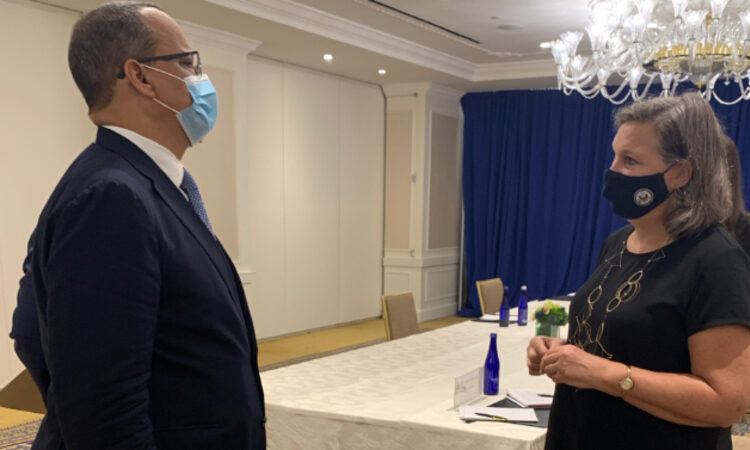 Under Secretary Nuland meets Mauritanian Foreign Minister Cheikh Ahmed