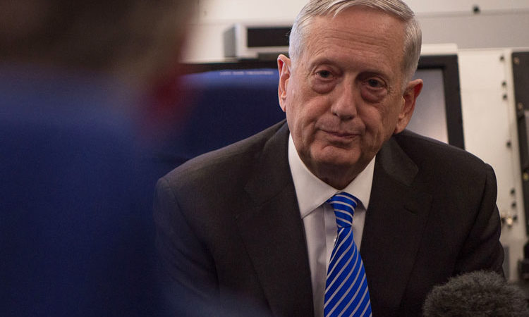Secretary of Defense Jim Mattis (Defense Dept.)