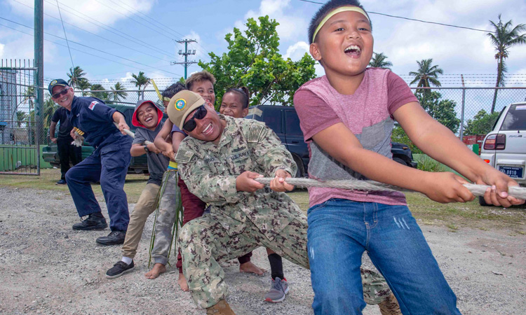 Pacific Partnership Conducts Host Nation Outreach Engagement