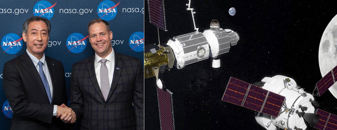 U.S. and Japan Partner on Future Moon Mission