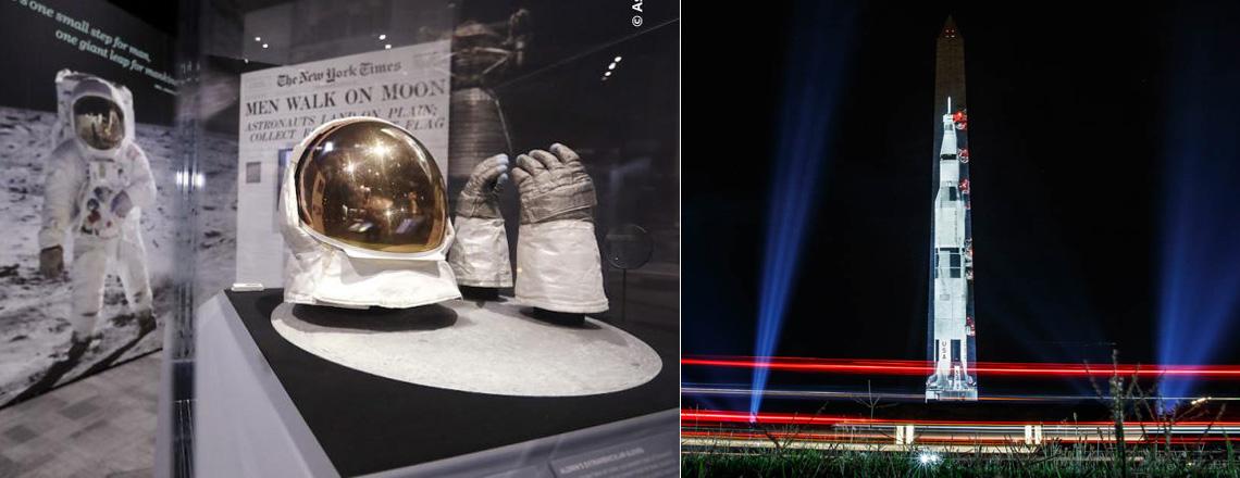 アポロ月着陸50周年を祝う