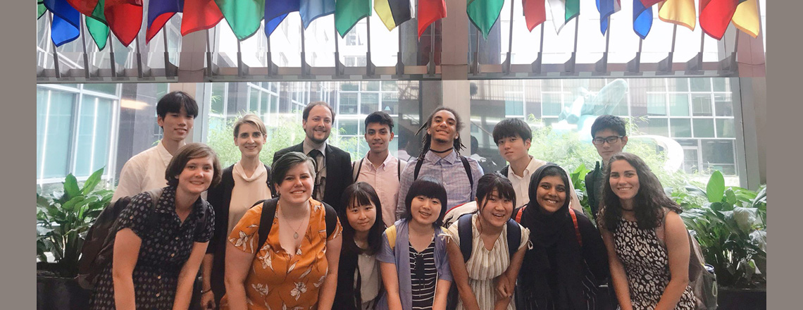 High School Students Learn about U.S.-Japan Relations