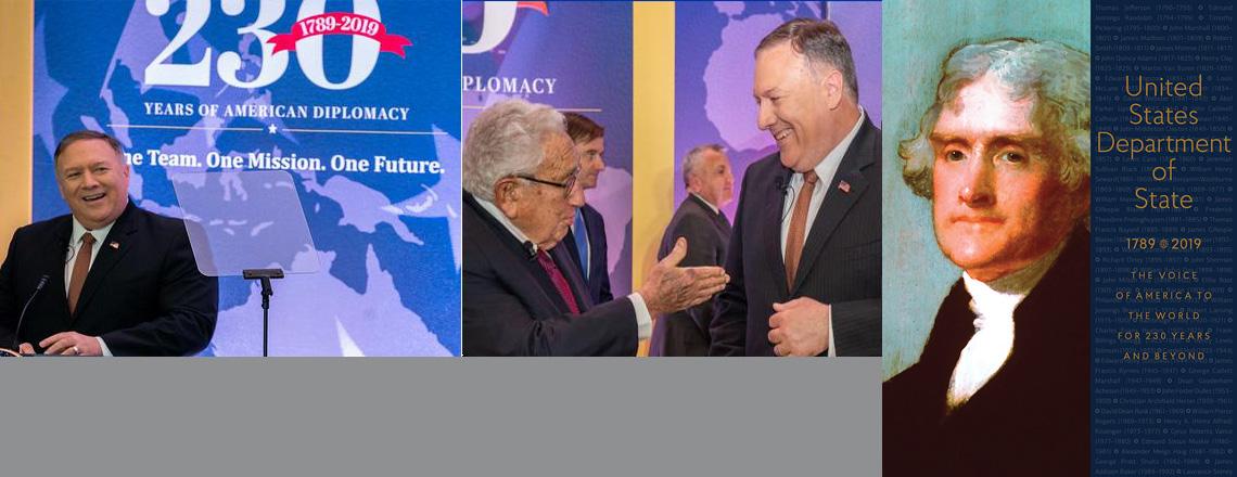Celebrating 230 Years of U.S. Diplomacy