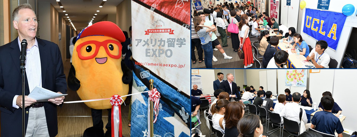 Study Abroad Expo Offers Myriad Opportunities in the U.S.