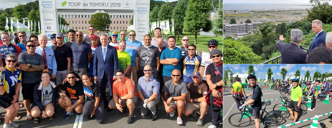 CDA Young Participates in Tour de Tohoku in Support of Ongoing Regional Recovery