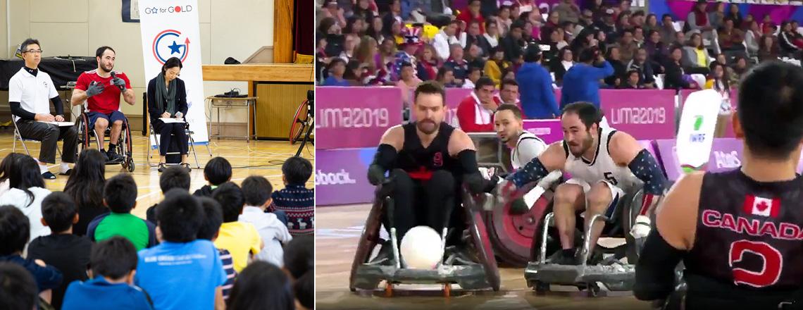 車いすラグビーが教えるスポーツの多様性